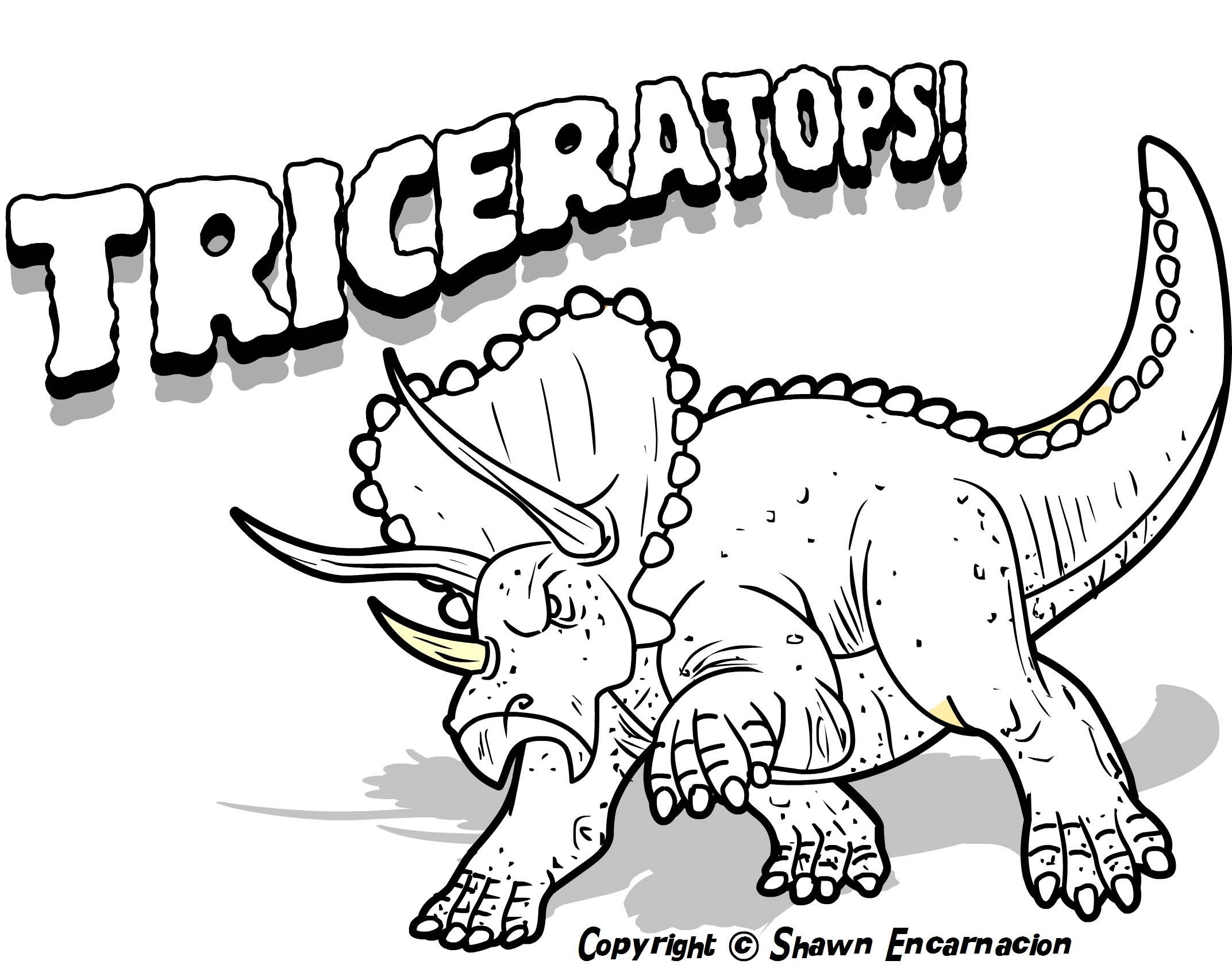 5 Images of Printable Dinosaur Coloring Pages With Names