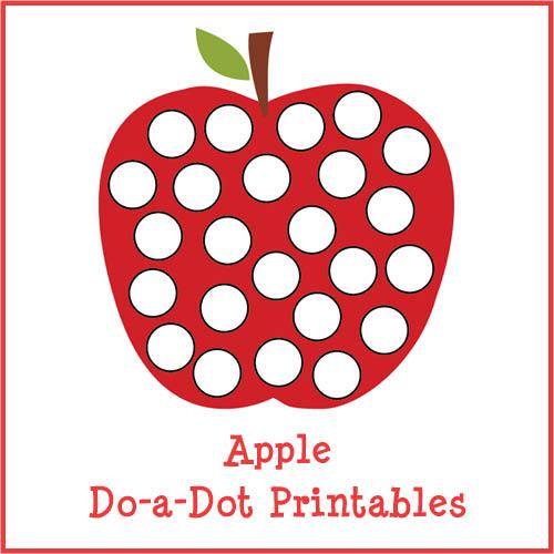Post_free Do A Dot Printables Apple_47804 on Farm Do A Dot Printables
