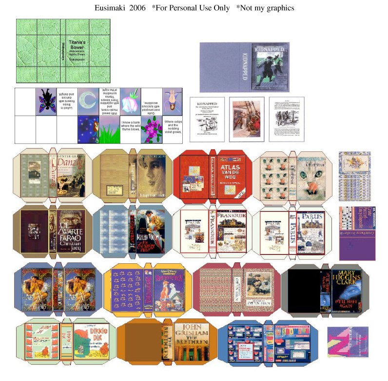 Miniature Book Cover Printables : Best images of dollhouse mini printables printable