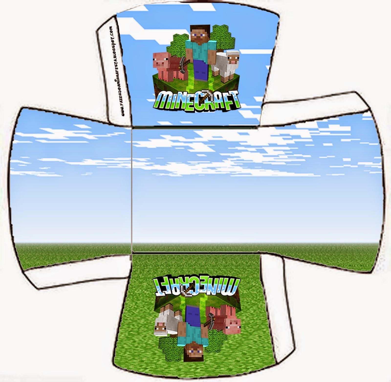 Free Minecraft Printable Boxes