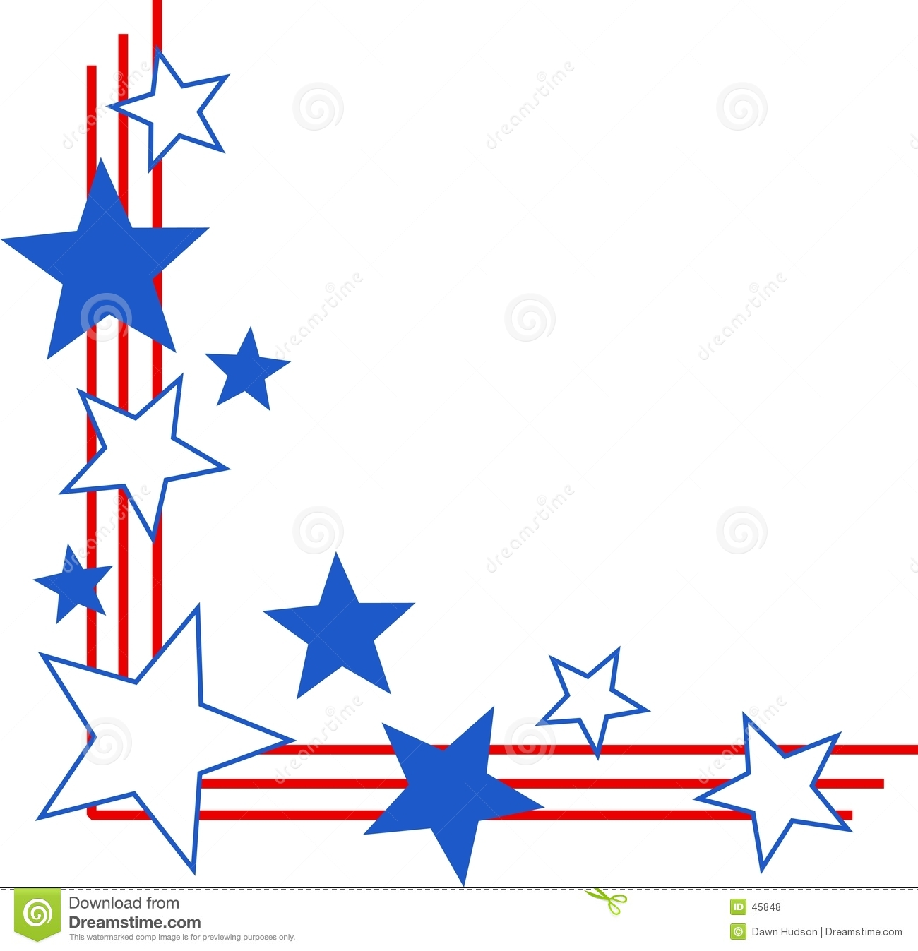 5 Images of Free Printable Patriotic Clip Art