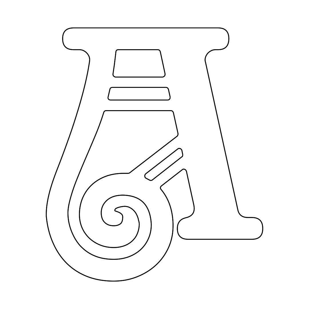 Free Printable Alphabet Letter Stencils