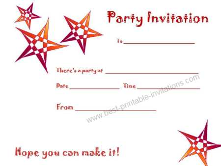 6 Images of Free Printable Party Invitations Adults