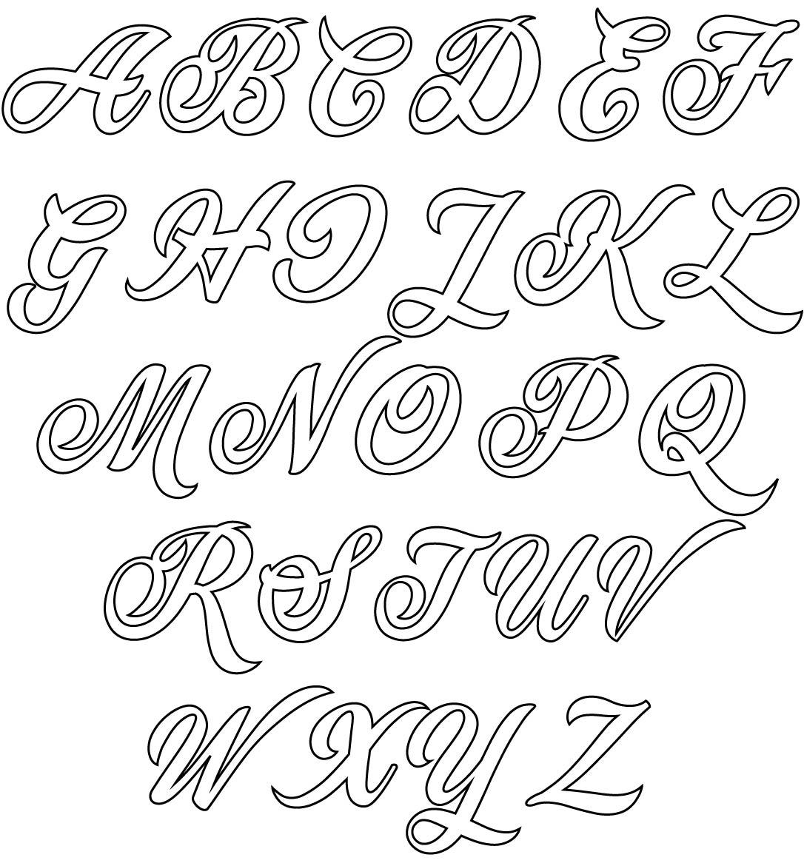 Free Printable Letter Stencils