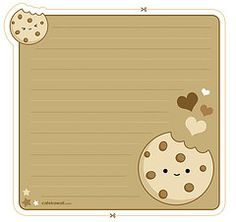 5 Images of Printable Kawaii Envelope Memo