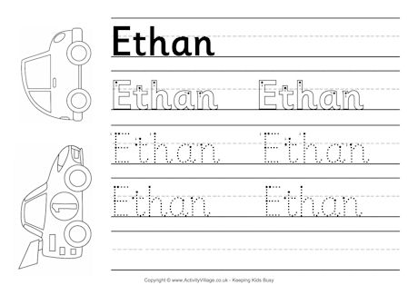 6 Best Images of My Name Tracing Printable Worksheets - Write Your ...