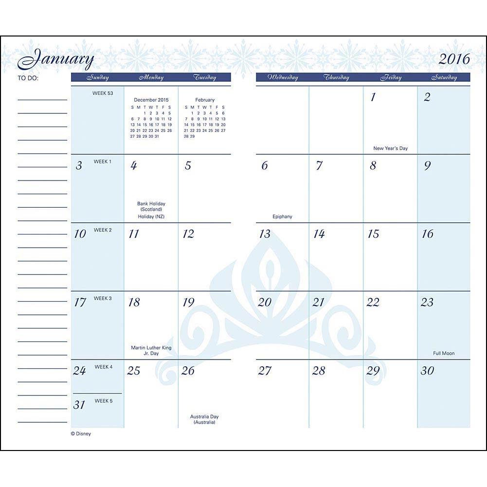 8 Images of 2016 Pocket Planner Calendar Free Printable