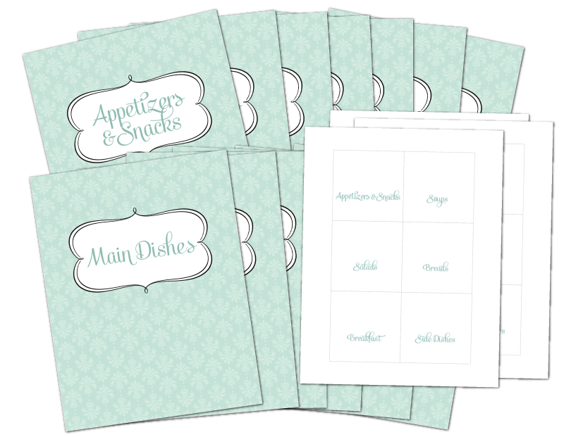 8 best images of free printable recipe divider templates free printable 4x6 recipe card. Black Bedroom Furniture Sets. Home Design Ideas