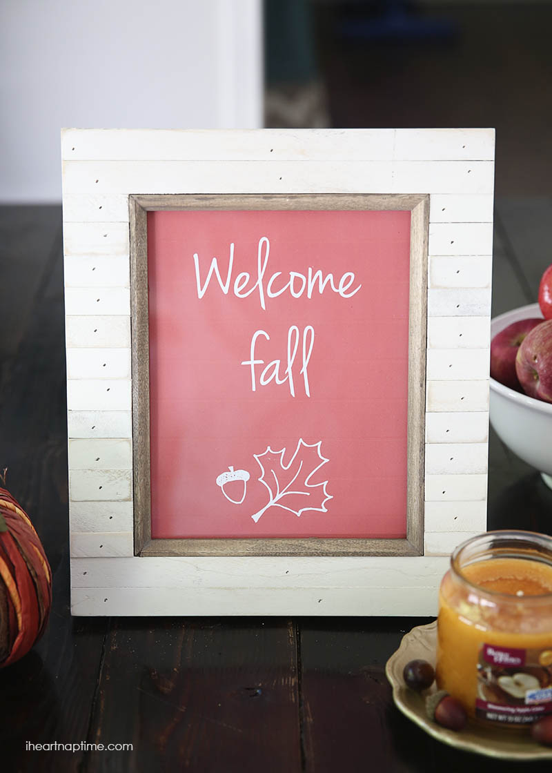 5 Images of Welcome Fall Printable