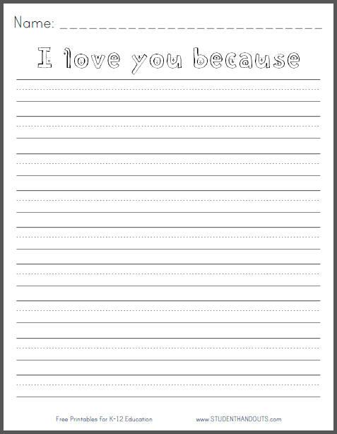 Free Worksheets : kindergarten writing printables Kindergarten ...