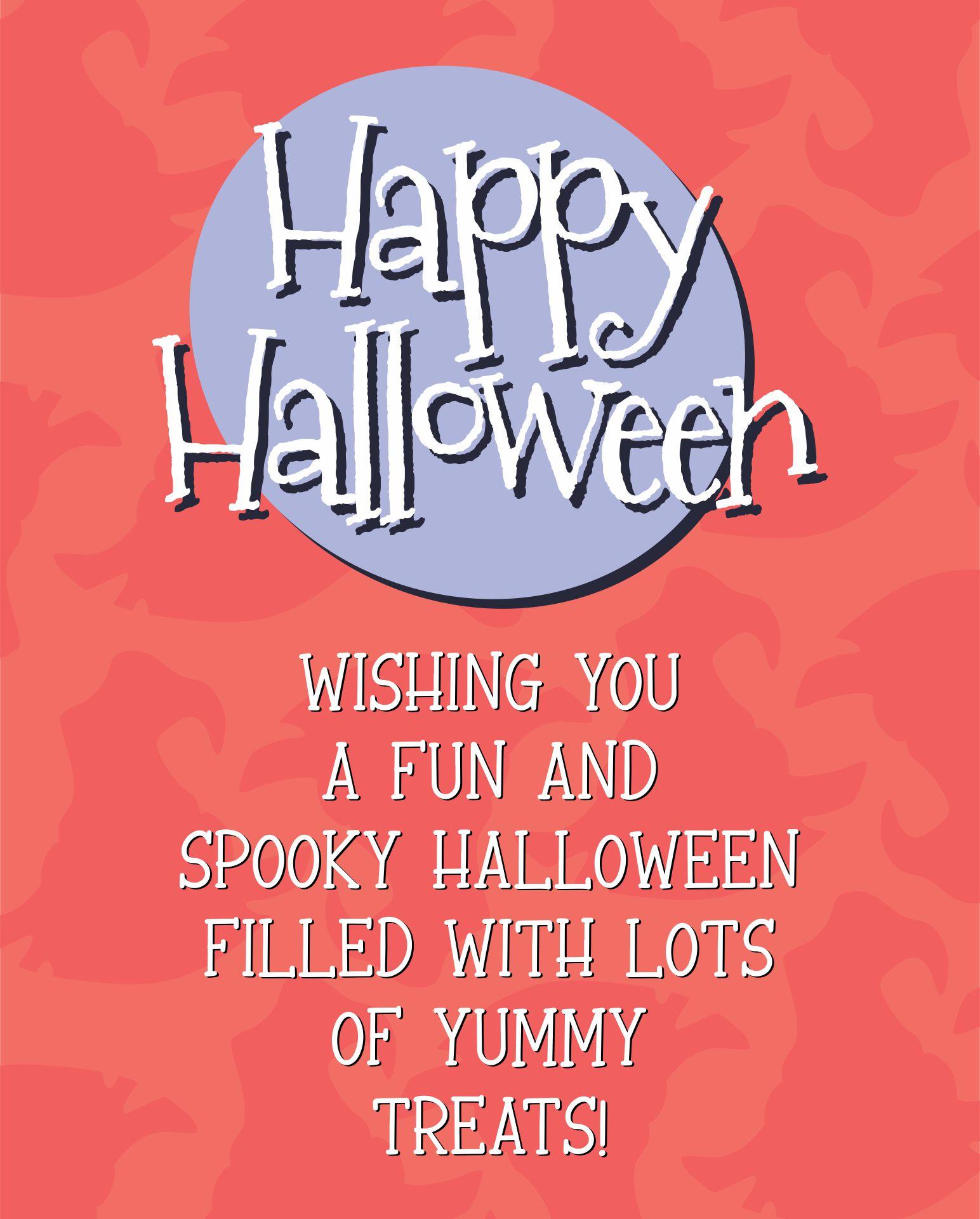 Halloween Greeting Cards Sayings