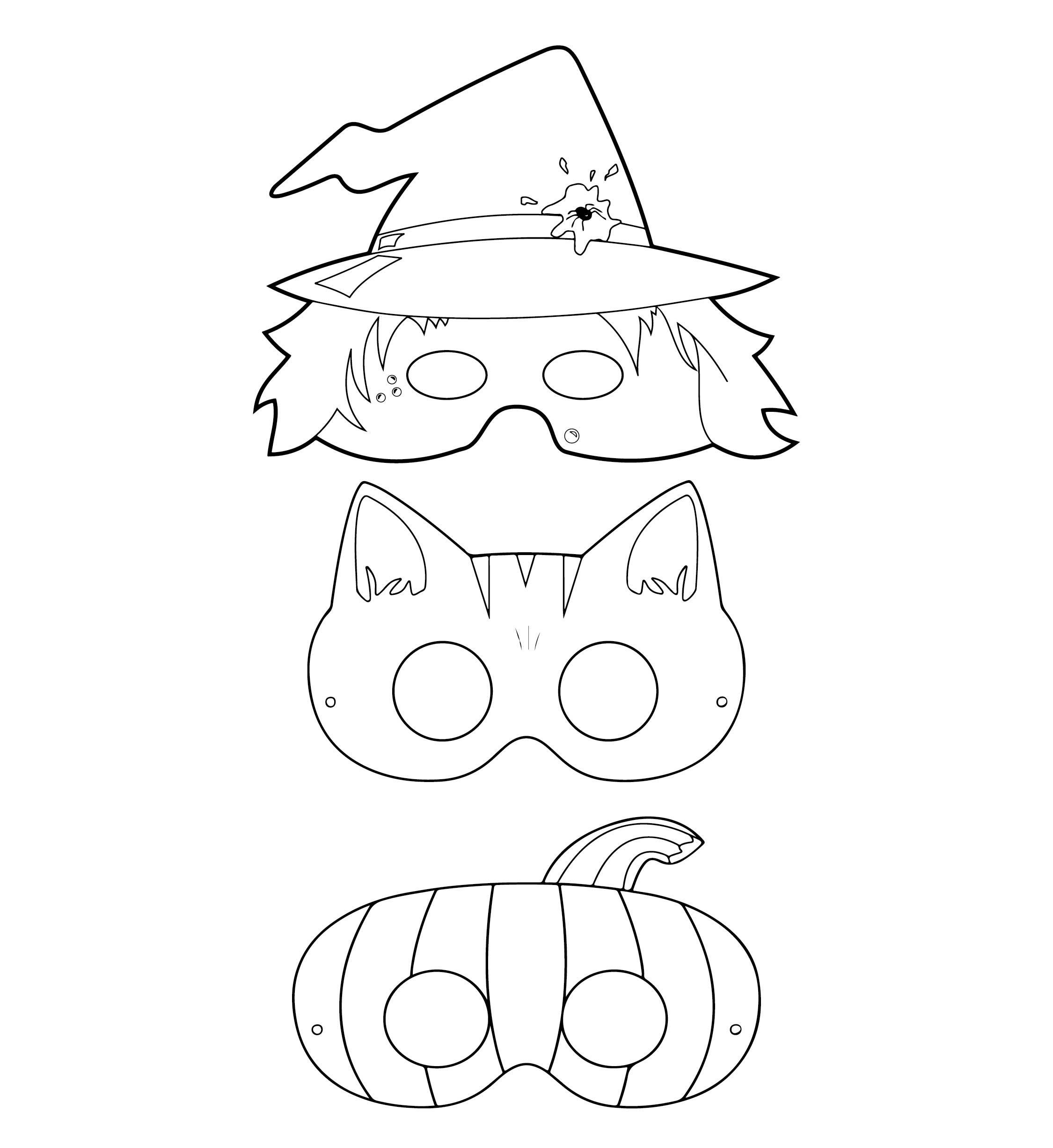 Kids Halloween Party Printables