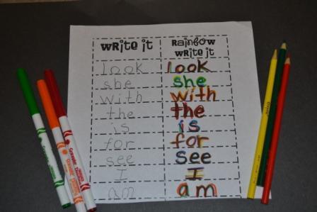 Homework for kindergarten free