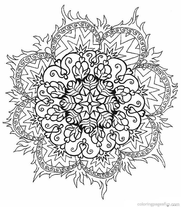 7 Images of Beautiful Difficult Printable Coloring