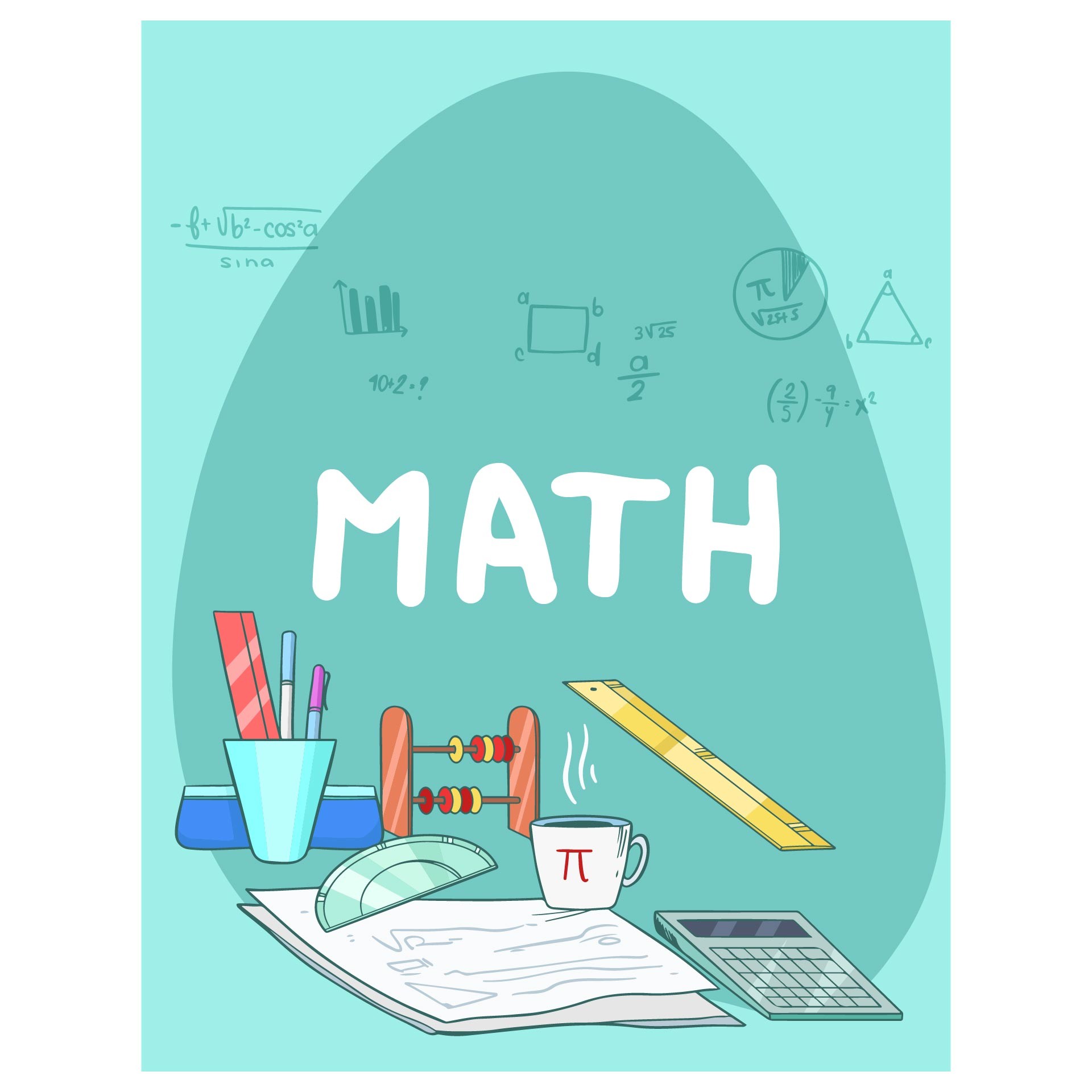 Math Binder Cover Designs