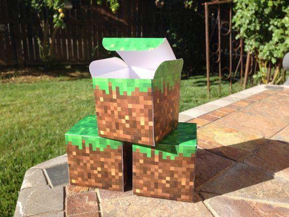 Minecraft Printable Paper Box