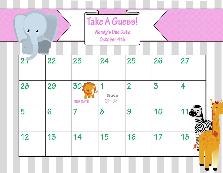 printable pregnancy calendar by due date pregnancy birth