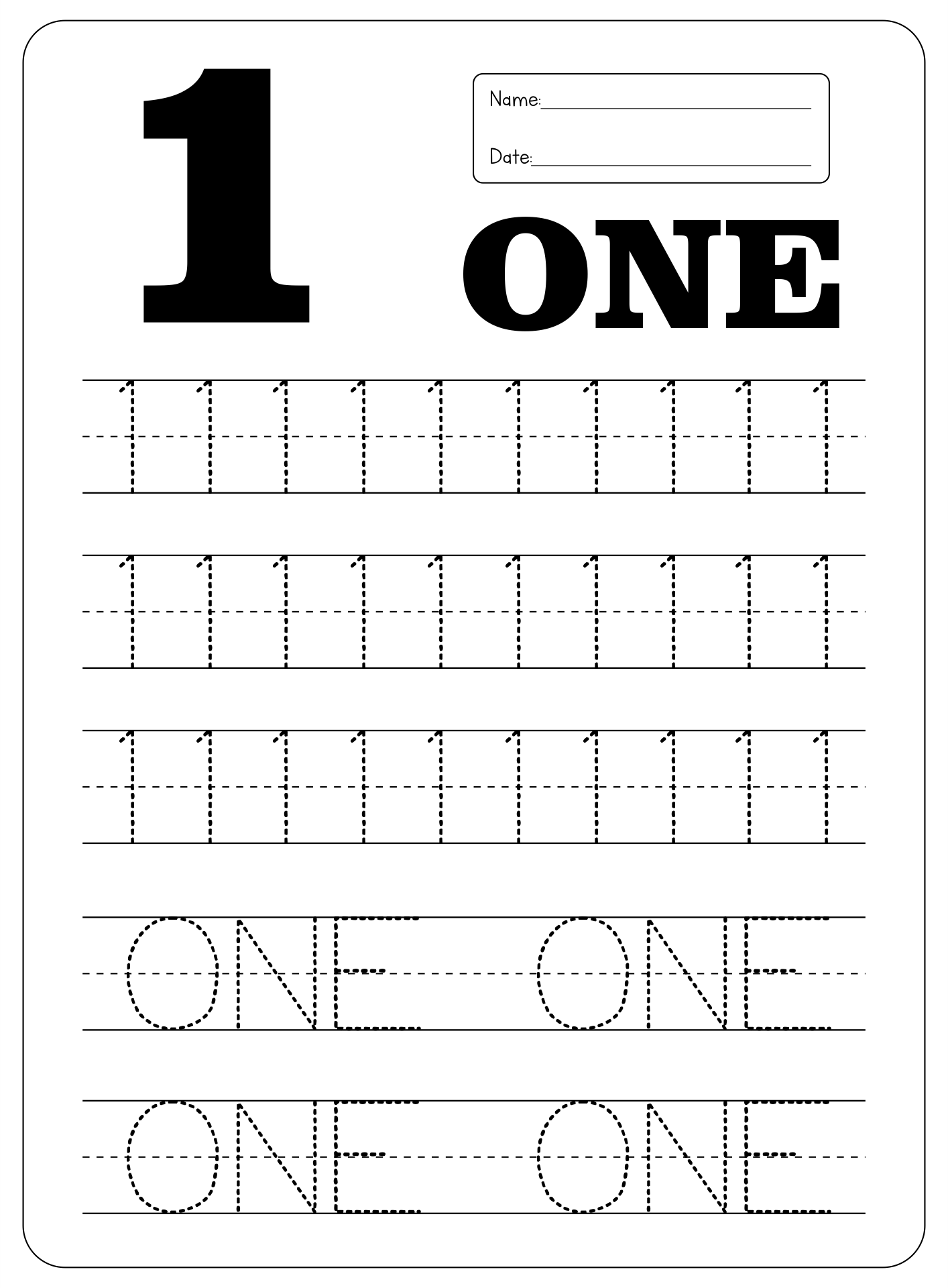 math worksheet : number writing worksheet for kindergarten  sheets : Kindergarten Number Worksheet