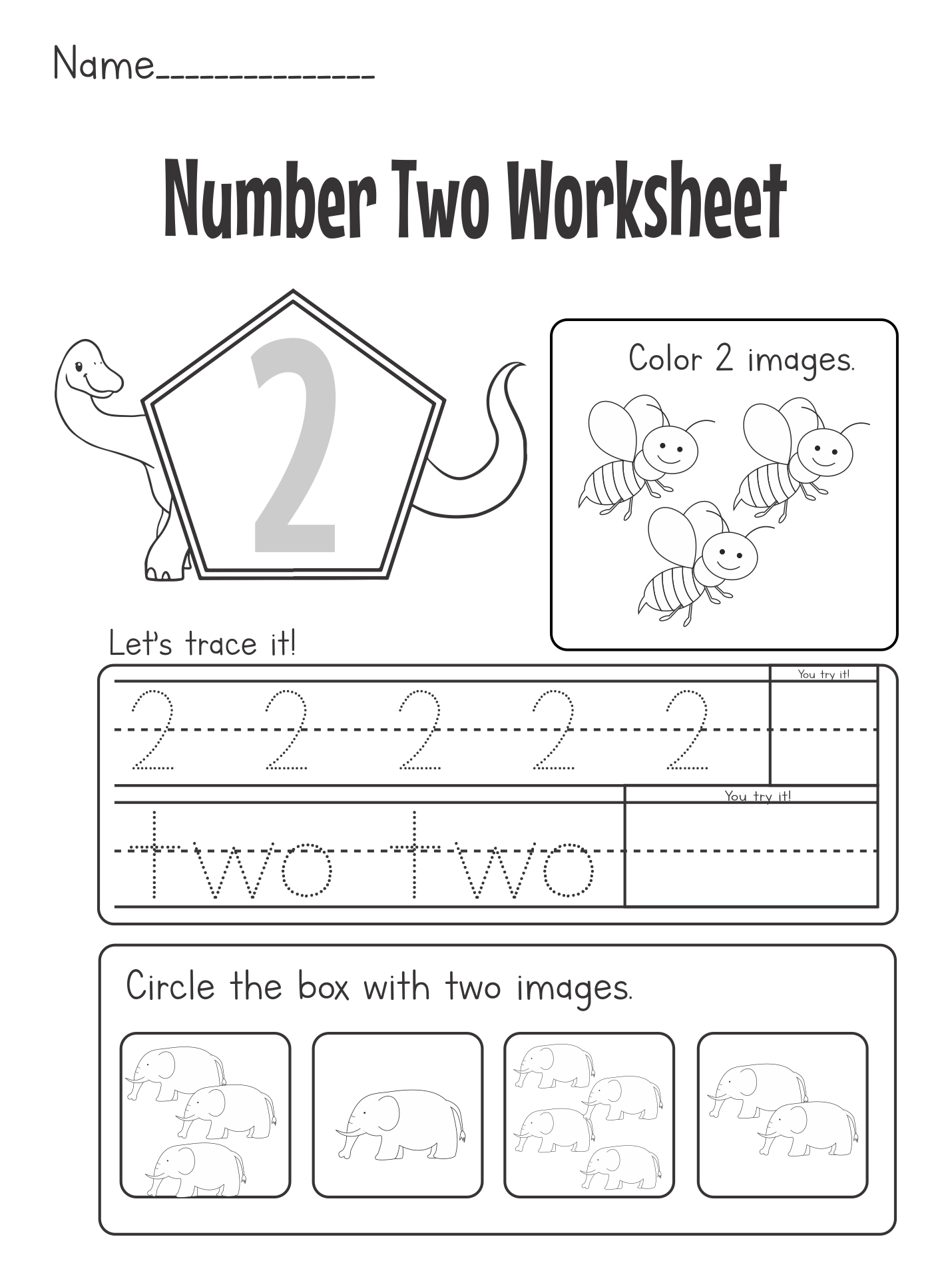 7 Images of Printable Number Worksheets