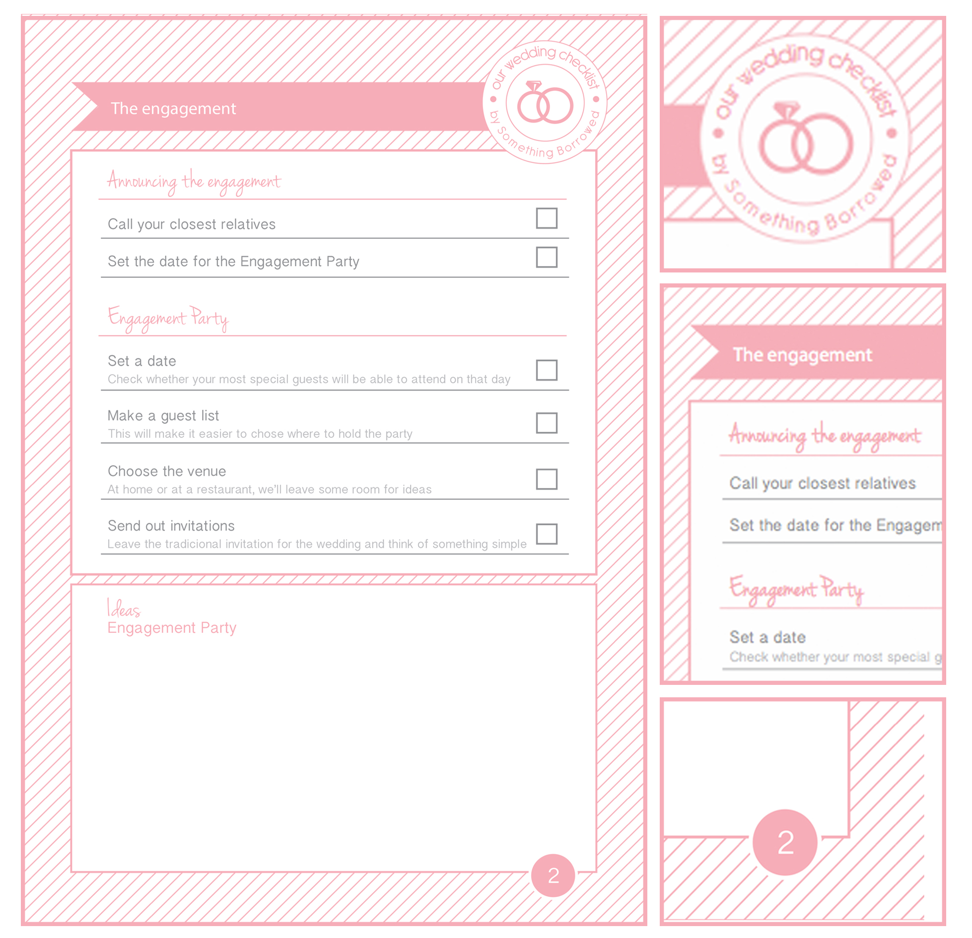 9 Images of Printable Wedding Planner Planning