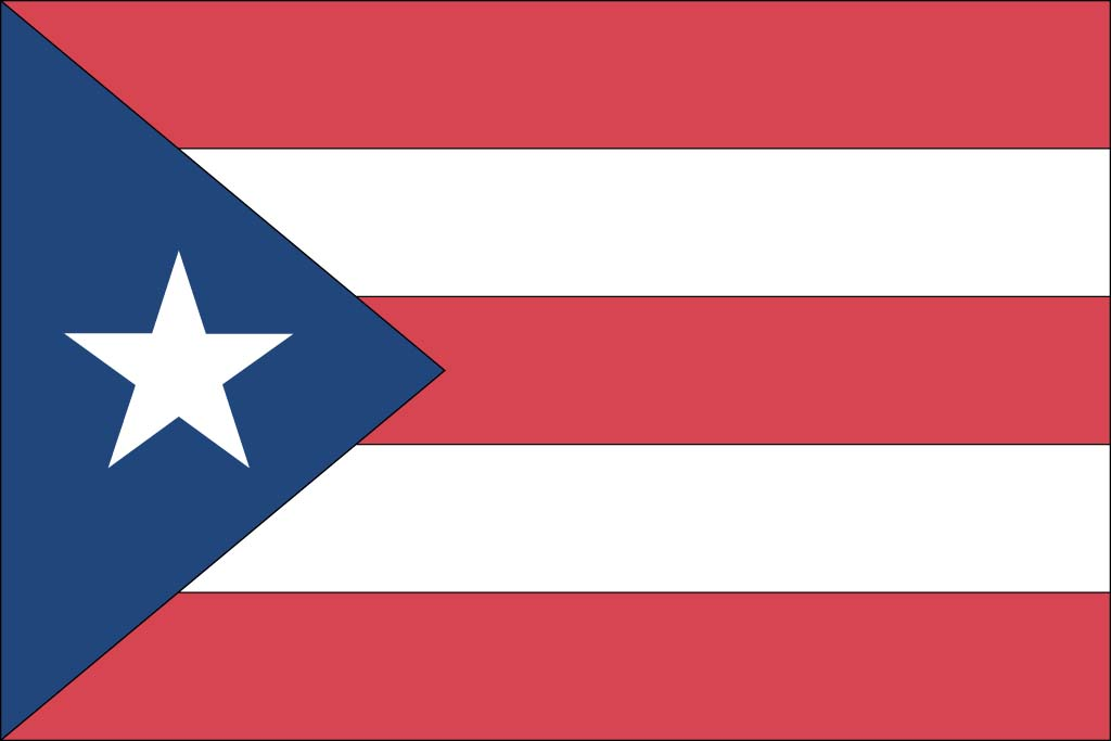 7 Images of Printable Flag Of Puerto Rico