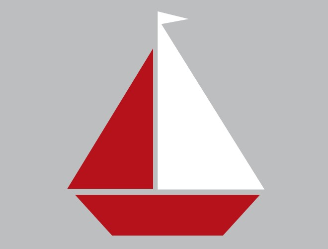 Sailboat Stencil Template