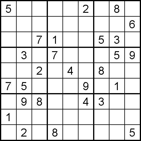 4 Images of Medium Printable Sudoku Sheets