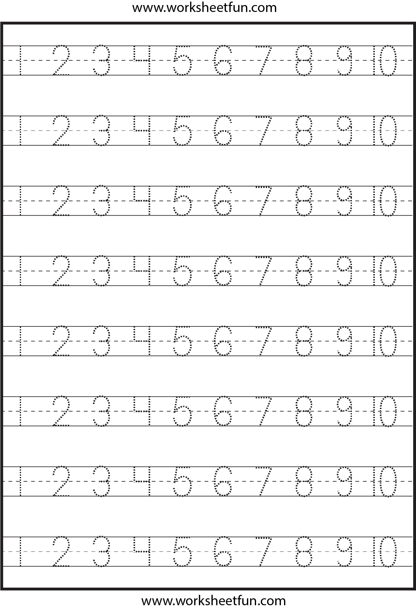 math worksheet : number worksheets for kindergarten 1 30  tracing numbers  : Kindergarten Numbers Worksheets