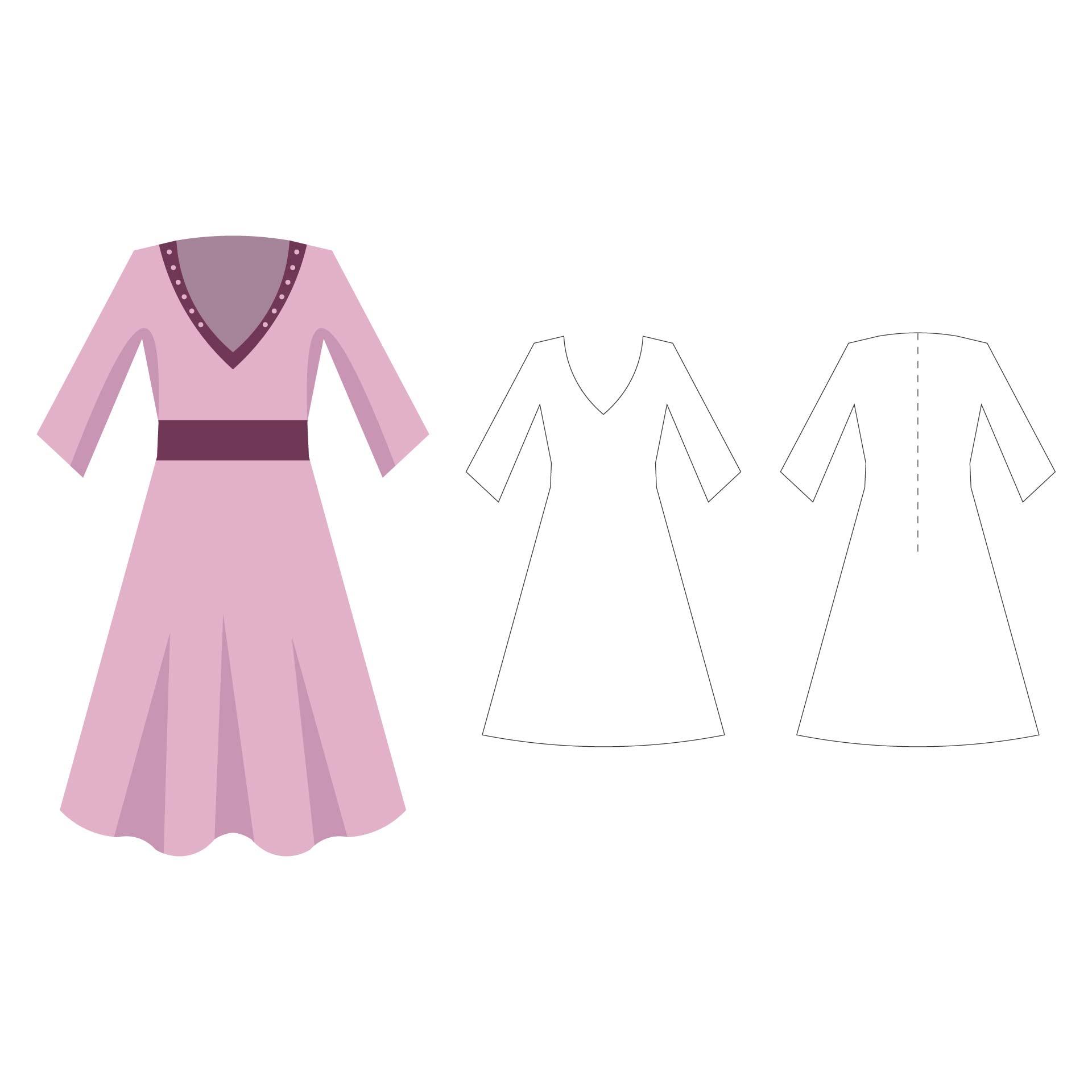 Tunic Dress Pattern Free