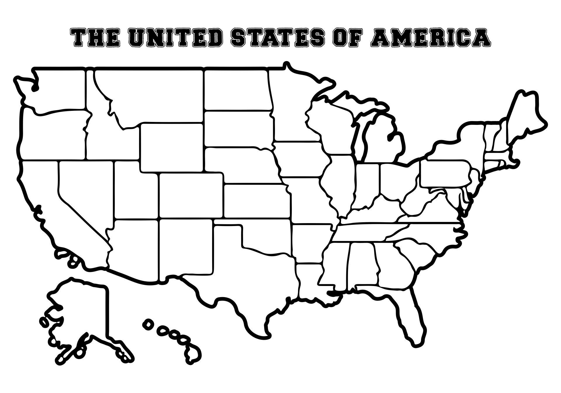 Worksheets United States Blank Map Worksheet map of usa 50 states blank worksheet molx united states