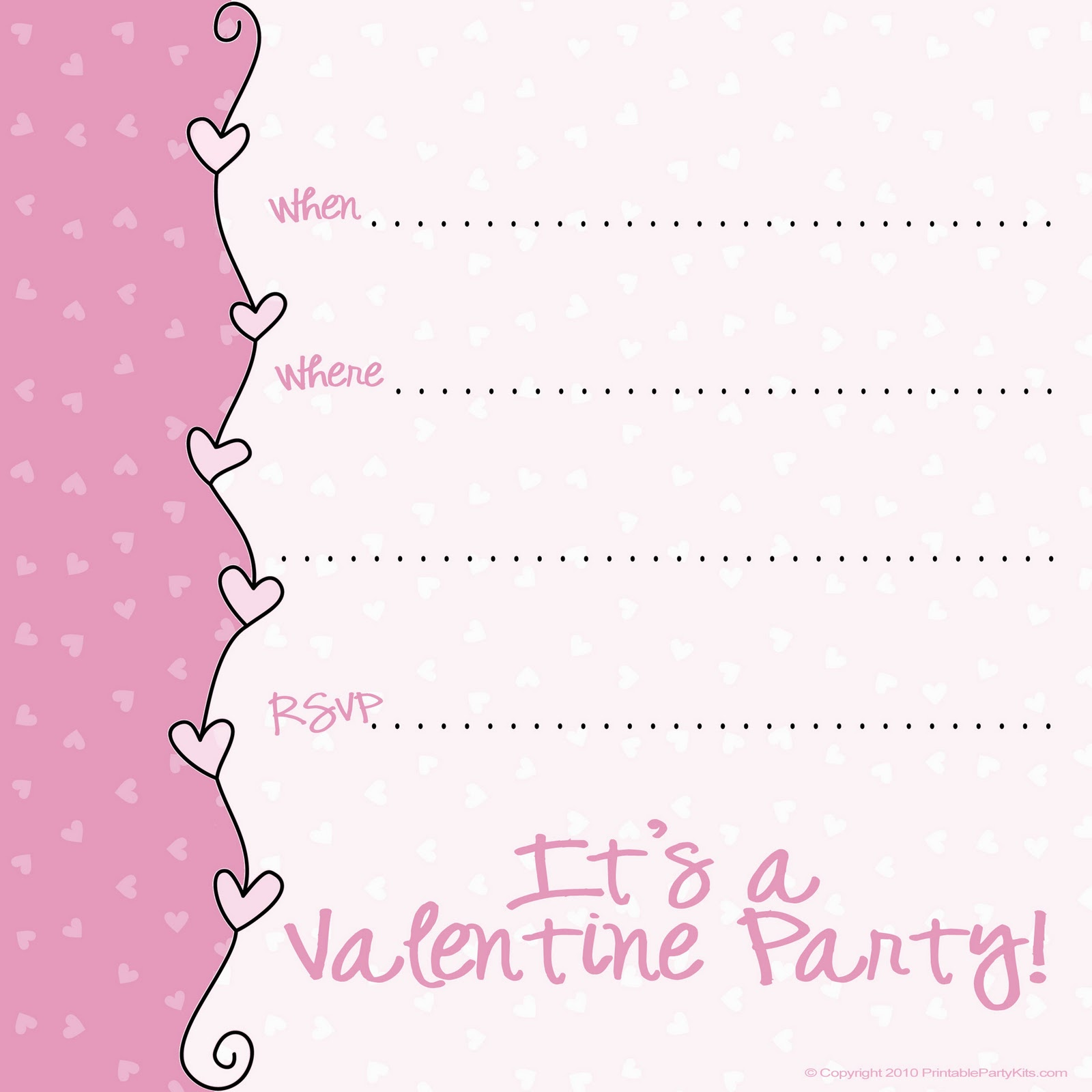 10 Images of Valentine's Banquet Invitations Printable