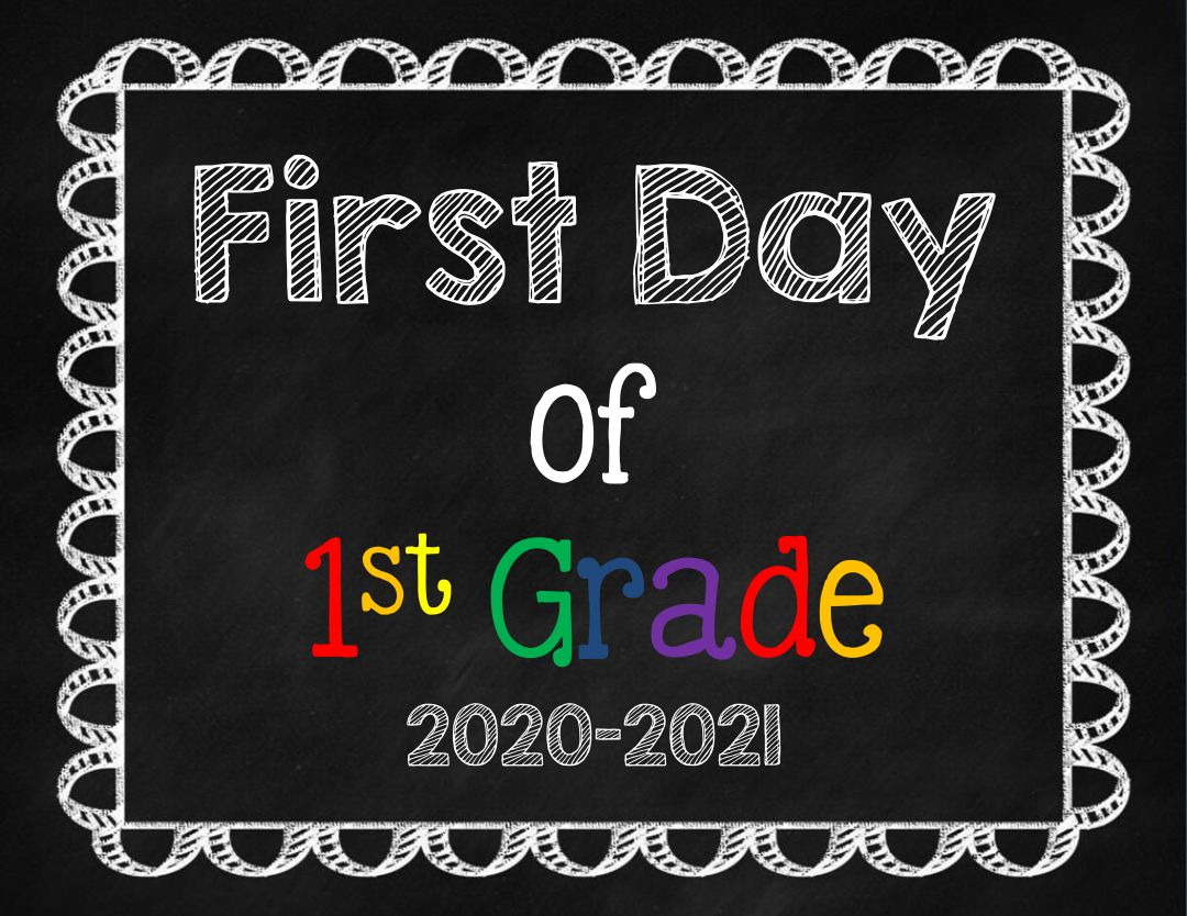 Worksheet 6 Grade 6 best images of sign printable first day 6th grade 1st school signs