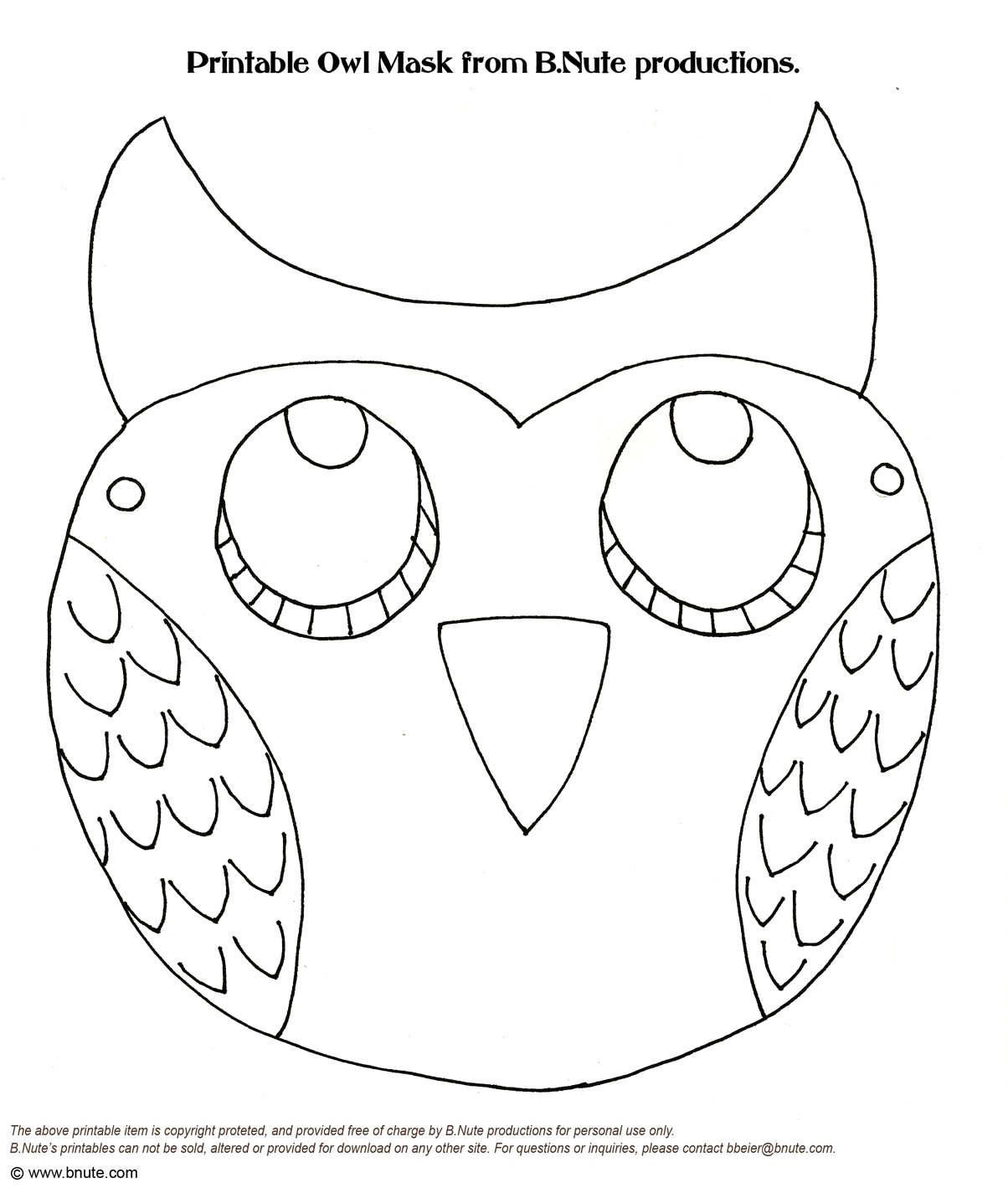 It is a photo of Owl Printable Template pertaining to pumpkin