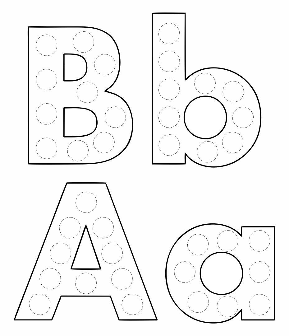Bingo Dauber Alphabet Letters