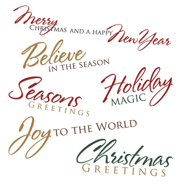 8 Images of Free Printable Christmas Sayings
