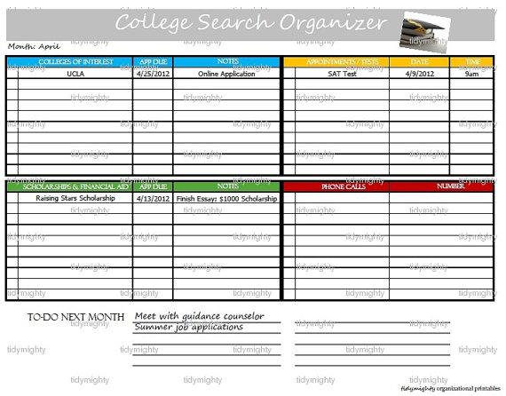 planner college
