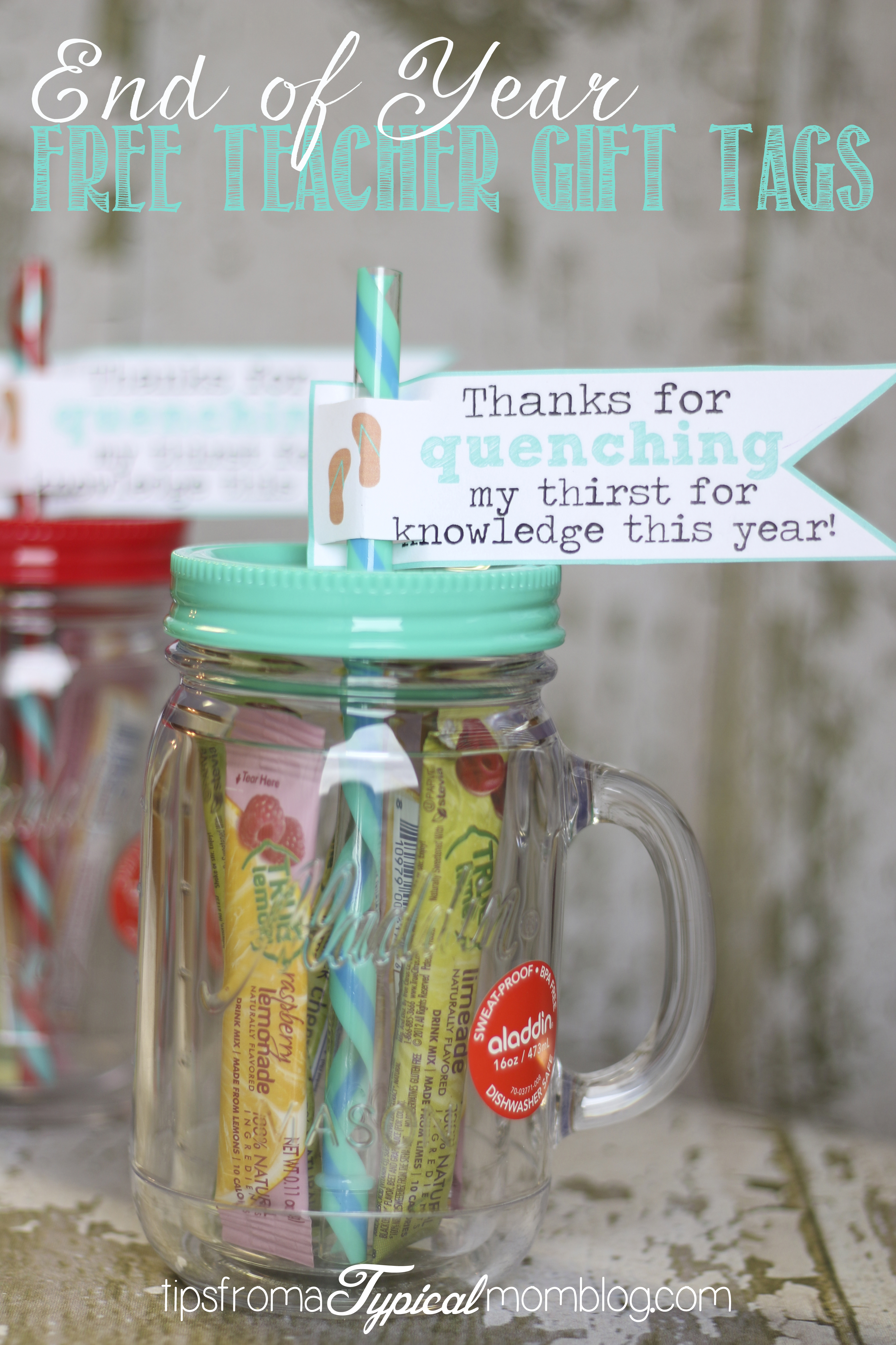 5 Images of End Of Year Teacher Gift Printable