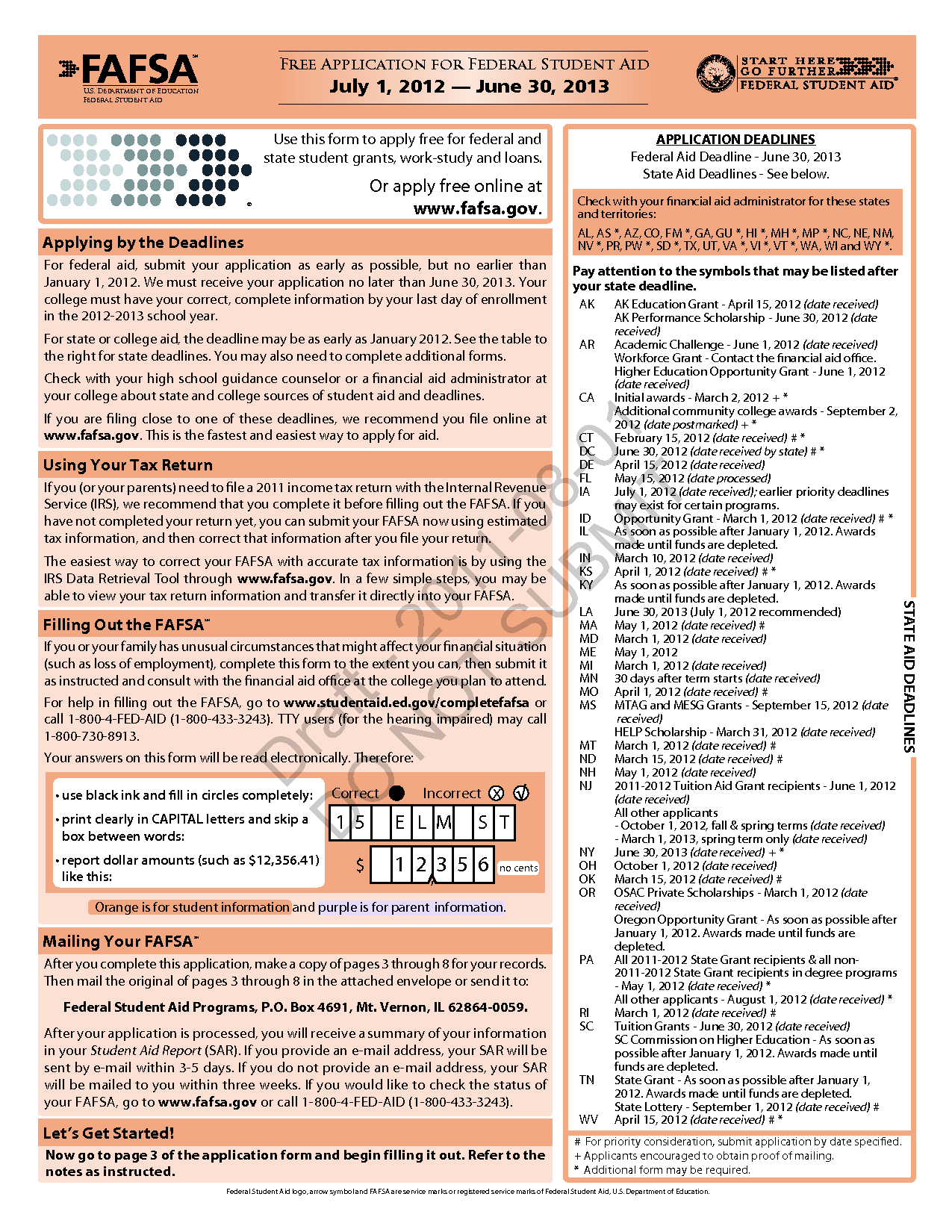 Printables Printable Fafsa Worksheet printable fafsa worksheet bloggakuten 2016 intrepidpath