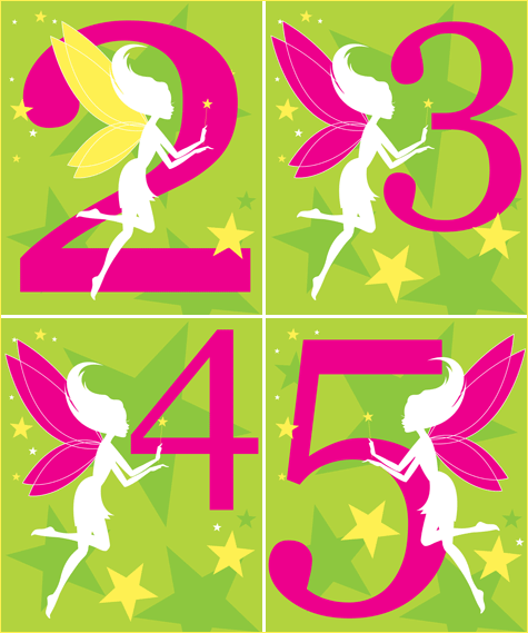 Fairy Birthday Printables Free