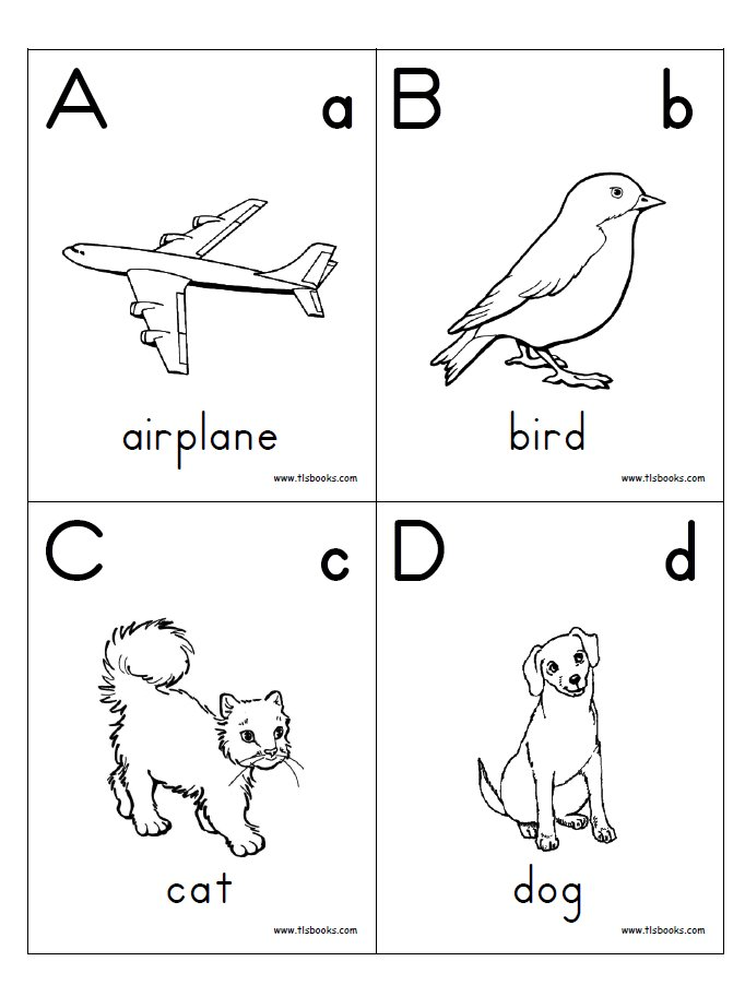 math worksheet : 7 best images of printable alphabet books for kindergarten  free  : Free Letter Worksheets For Kindergarten
