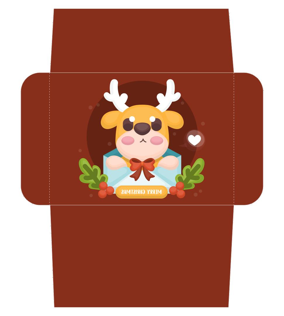 Printable Christmas Envelopes Templates