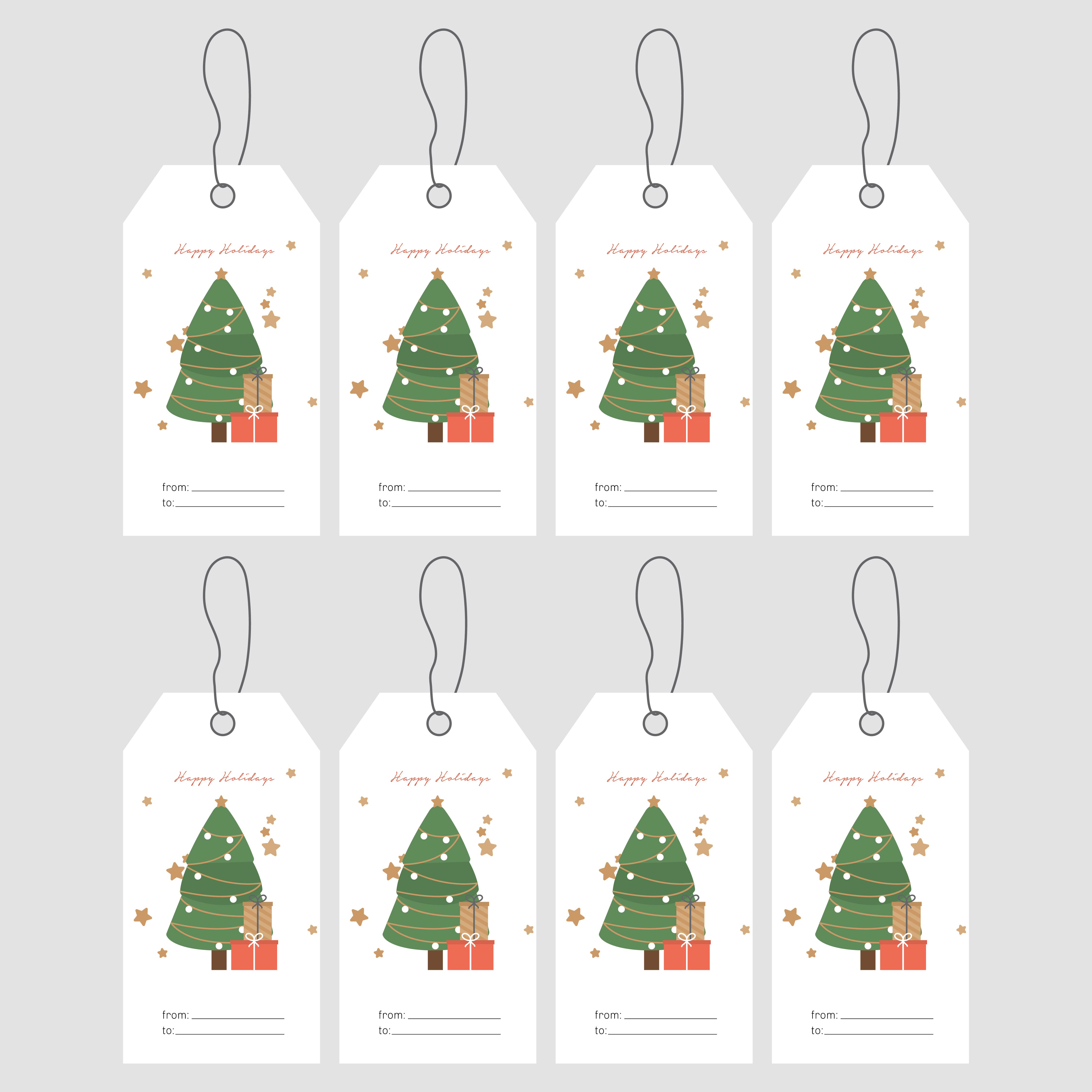 7 best images of avery printable gift tags