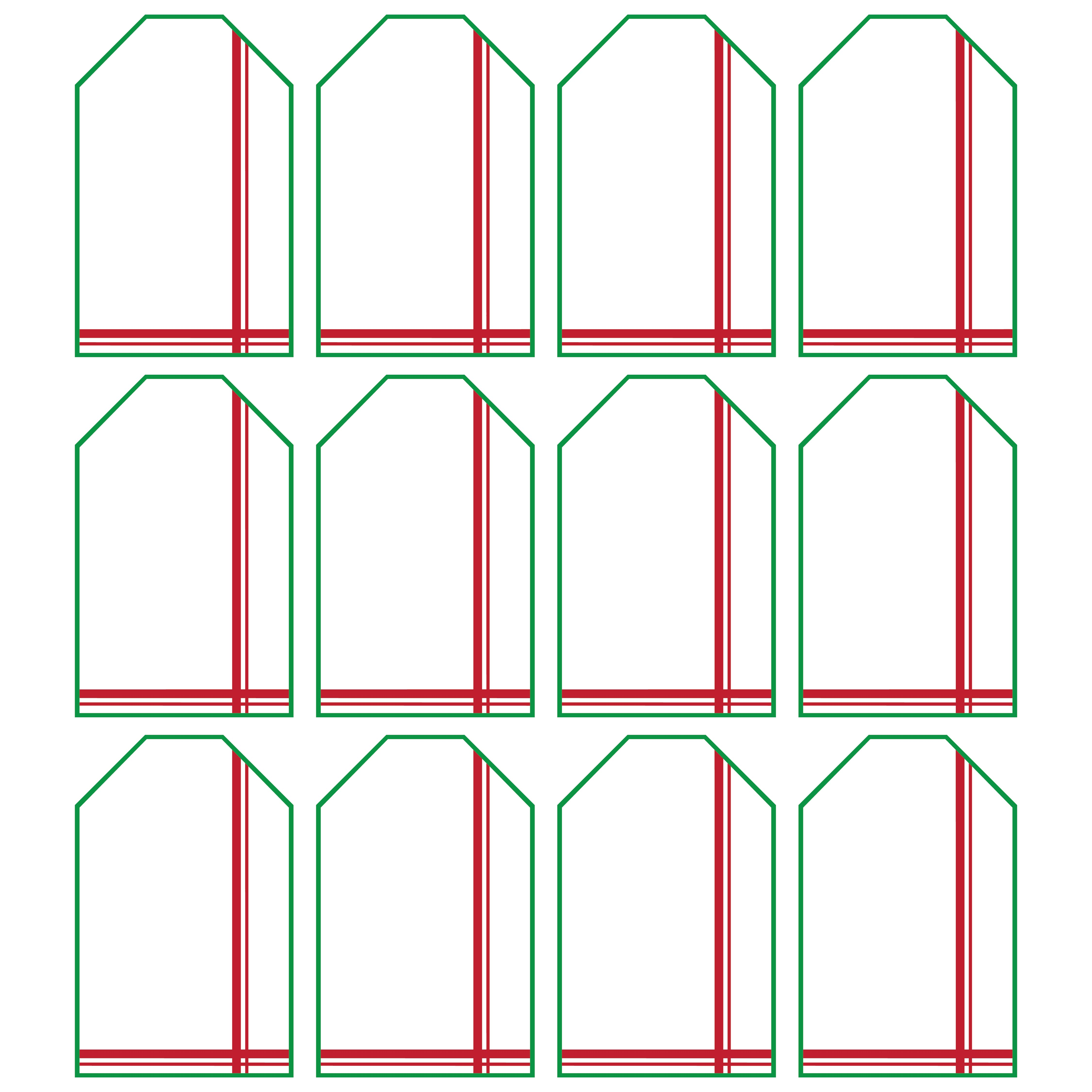 Printable Christmas Gift Tags for Avery Labels