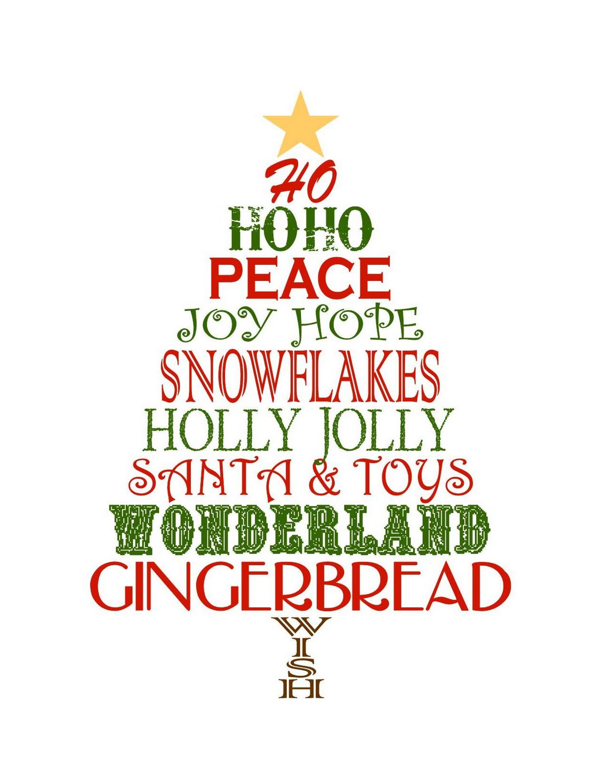 6 Images of Free Printable Christmas Posters