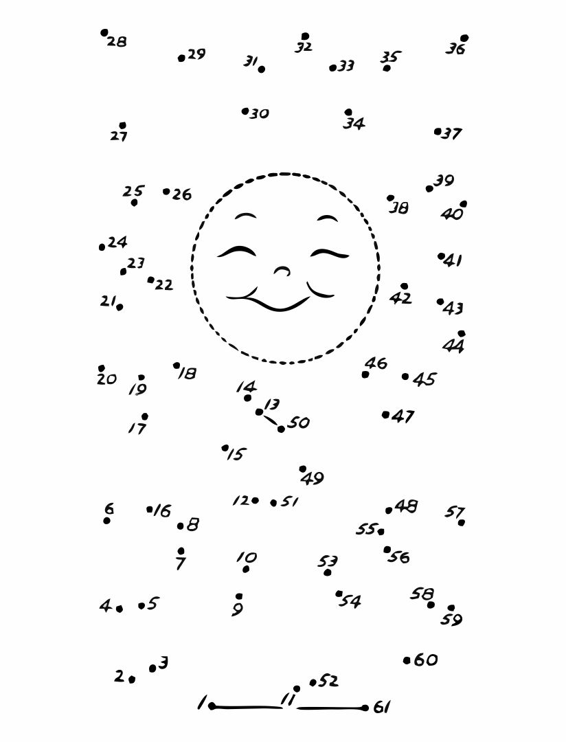 Printable Dot to Dot Pages for Kids