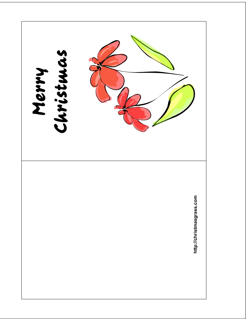 6 Images of Free Printable Christmas Greetings