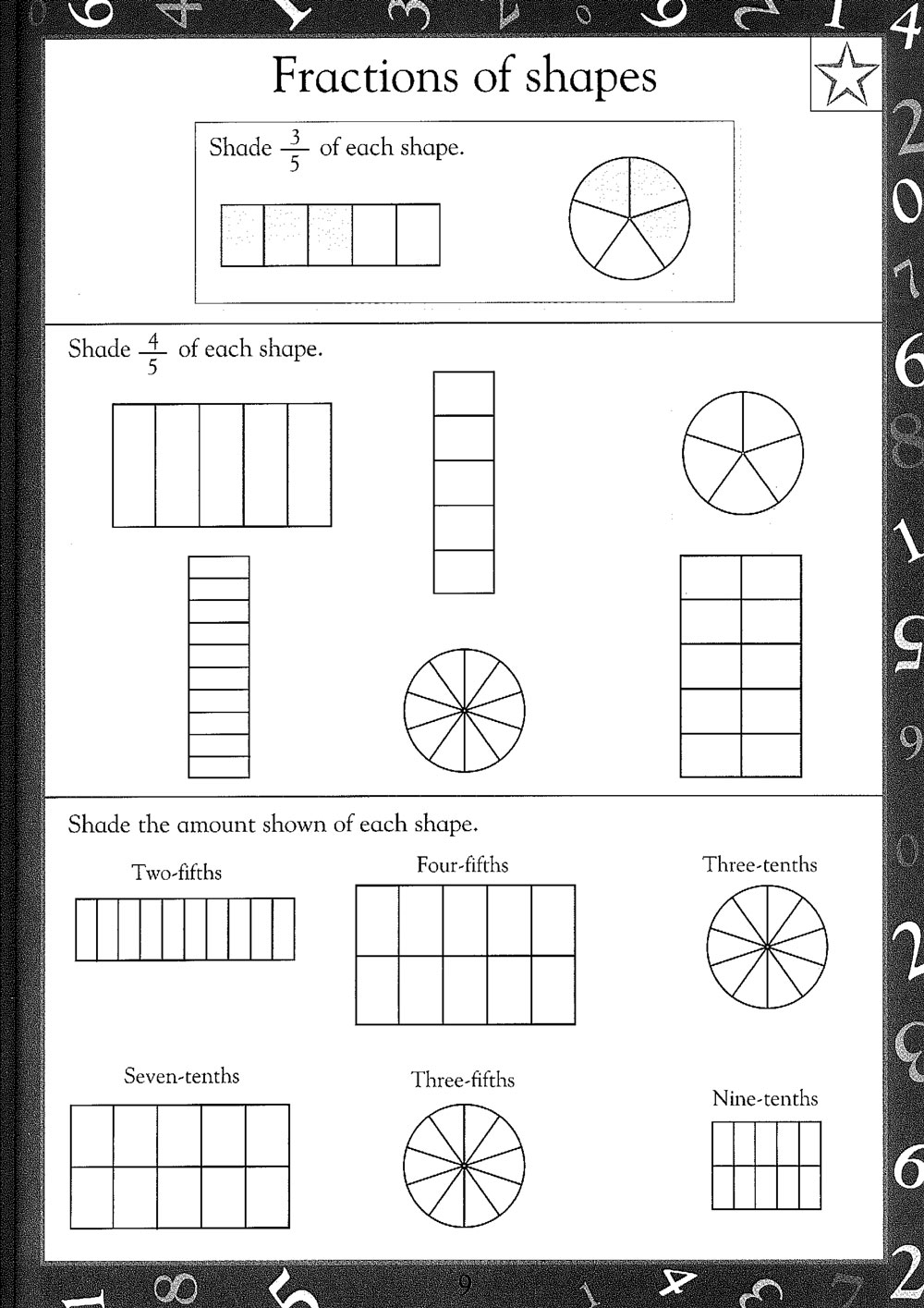 Worksheet 644447 Maths Revision Ks3 Year 8 Worksheets GCSE – Fractions Ks3 Worksheets