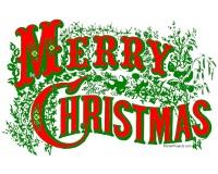 Free Printable Merry Christmas Posters
