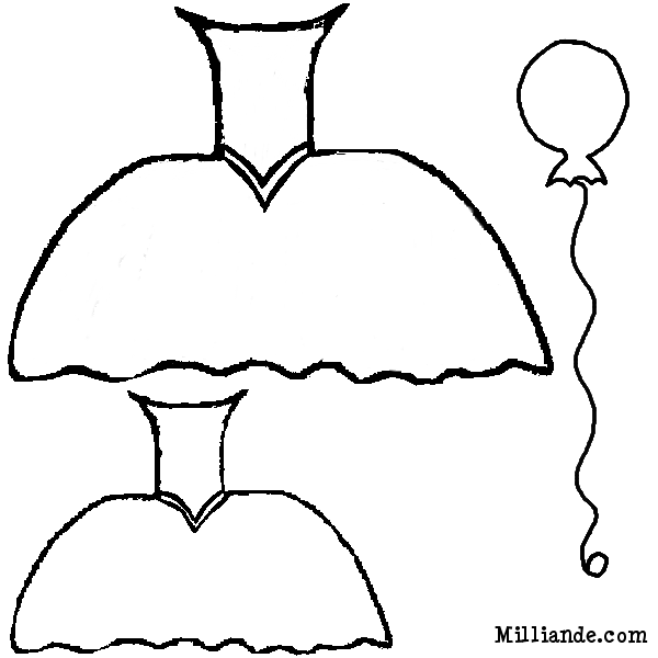 Free Printable Coloring Template - Clothes Coloring Pages, Winter ...