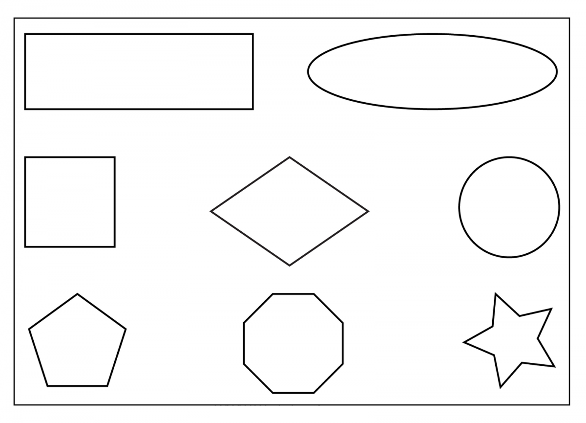 Worksheets Printable Shape Worksheets free printable shapes worksheets rupsucks printables 7 best images of toddlers toddler preschool worksheets